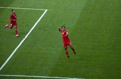 De Olympische Voetbal Giovani Dos Santos van Mexico Royalty-vrije Stock Afbeelding