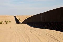De omheining van de grens Stock Afbeeldingen