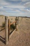 De omheining van de prairie Stock Afbeeldingen