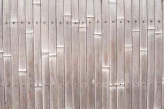 De Omheining van het bamboe Stock Foto