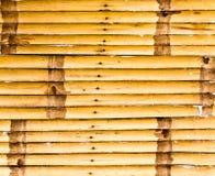 De omheining van het bamboe Royalty-vrije Stock Afbeeldingen