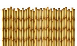 De Omheining van het bamboe stock illustratie