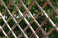 De omheining van het bamboe Stock Afbeelding
