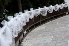De omheining van het huwelijk stock fotografie