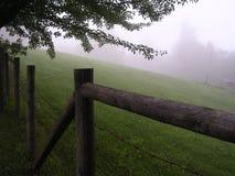 De omheining van het landbouwbedrijf Stock Fotografie