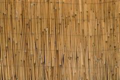 De omheiningsachtergrond van het bamboe Royalty-vrije Stock Fotografie