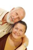 De omhelzing van Heartwarming Stock Foto's