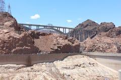 De omleiding van de Hooverdam Royalty-vrije Stock Foto