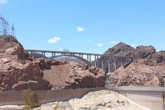 De omleiding van de Hooverdam Stock Foto