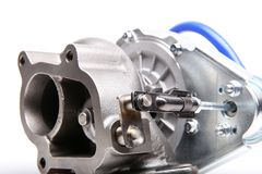 De omleidingsklep van turbocompressor royalty-vrije stock foto's