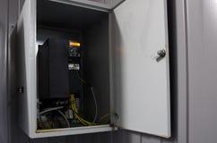 De omschakelaarsconvertor van de veranderlijke snelheidsaandrijving, eenheid voor voltagestabilisatie Stock Afbeelding