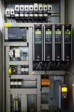 De omschakelaarsconvertor van de veranderlijke snelheidsaandrijving, eenheid voor voltagestabilisatie Stock Foto's