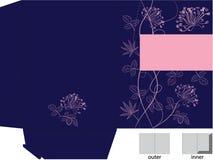 De omslag van de gift met matrijzenbesnoeiing royalty-vrije illustratie