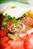 De omslag van Falafel Stock Fotografie