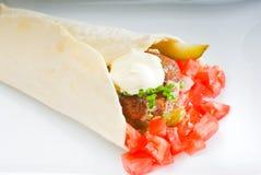 De omslag van Falafel Stock Foto