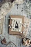 de omslag van de Kerstmisgift Royalty-vrije Stock Afbeeldingen