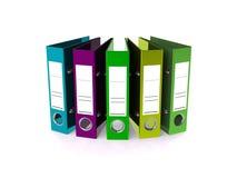 De omslag voor 3d documenten geeft terug Stock Foto's