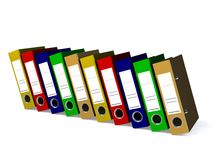 De omslag voor 3d documenten geeft terug Stock Afbeeldingen