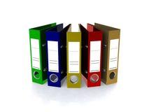 De omslag voor 3d documenten geeft terug Royalty-vrije Stock Foto