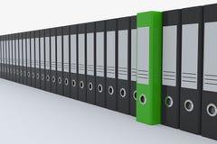 De omslagen van het archief. vector illustratie