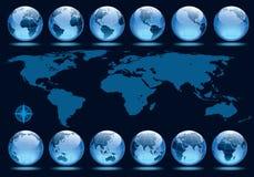 De omwenteling van de aarde Royalty-vrije Stock Foto