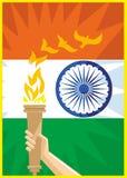 De Onafhankelijke dag van India vector illustratie