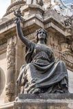 De Onafhankelijkheid Angel Monument Mexico City Mexico van vredesstandbeelden royalty-vrije stock fotografie
