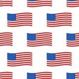 De onafhankelijkheid dag de V.S. markeert naadloze van de het symboolvrijheid van patroonverenigde staten Amerikaanse nationale h royalty-vrije illustratie
