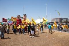 De Onafhankelijkheid van Brazilië Dag 2010 Royalty-vrije Stock Afbeelding
