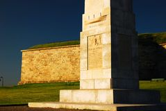De Onafhankelijkheid van het fort, Boston stock fotografie