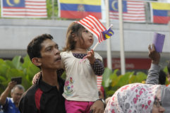 De Onafhankelijkheid van Maleisië dag achtenvijftigste royalty-vrije stock afbeelding