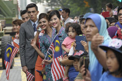 De Onafhankelijkheid van Maleisië dag achtenvijftigste stock foto's