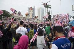 De Onafhankelijkheid van Maleisië Dag zevenenvijftigste stock fotografie