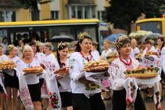 De Onafhankelijkheidsdag van de Oekraïne ` s Stock Foto