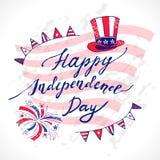 De Onafhankelijkheidsdag van de V Royalty-vrije Stock Foto