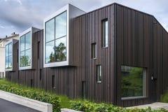 De onconventionele moderne bouw Royalty-vrije Stock Foto