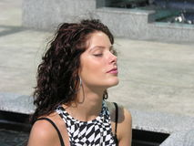 De onderbreking van de meditatie Royalty-vrije Stock Afbeelding