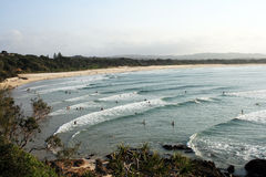 De onderbreking van het strand Stock Afbeelding
