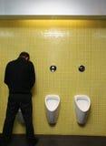 De onderbreking van het toilet Stock Afbeelding