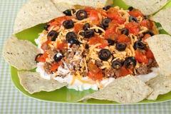De Onderdompeling van de taco royalty-vrije stock afbeelding