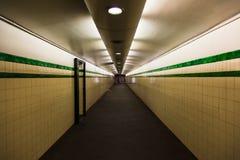 De ondergrondse tunnel van Sydney royalty-vrije stock afbeelding