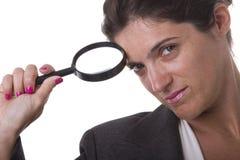 De onderneemster van de detective Royalty-vrije Stock Afbeelding