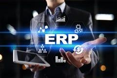 De onderneming van middelen voorziet planningszaken en technologieconcept royalty-vrije stock afbeelding