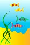 De onderwaterwereld royalty-vrije illustratie