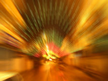 De onduidelijke beelden van de Verlichting van de straat Stock Foto
