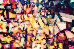 De ongebruikelijke abstracte lichteffectachtergrond, lichte lekken, kan worden gebruikt in verschillende het mengen wijzen Stock Fotografie
