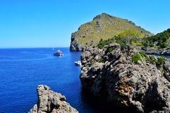 De ongelooflijke kust van Mallorca stock foto