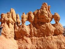 De Ongeluksboden van de Canion van Bryce Stock Foto's