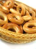 De ongezuurde broodjes van de ring Stock Fotografie