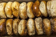 De Ongezuurde broodjes van New York Royalty-vrije Stock Foto's